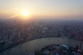 Sonnenuntergang in Metropole