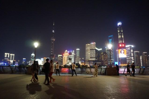 Uferpromenade von Shanghai