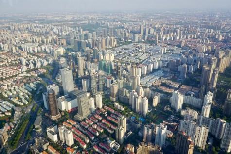 Millionenstadt von oben