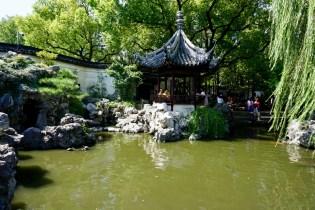 Teich in Shanghai