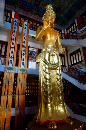 Goldener Buddha in Dali