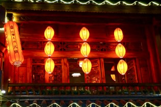Dekoration mit Lampions