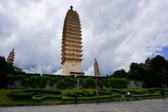 Pagoden in der Provinz Yunnan