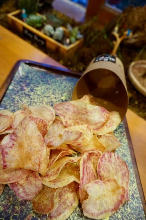 Pommes mit Trüffel-Öl