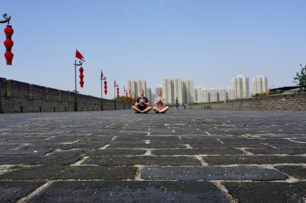 Lotus-Position in Xian