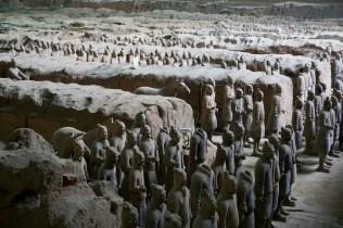 Historische Ausgrabungen in China