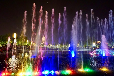 Wasserlichtspiele in China