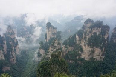 Nebel und Wolken im Nationalpark