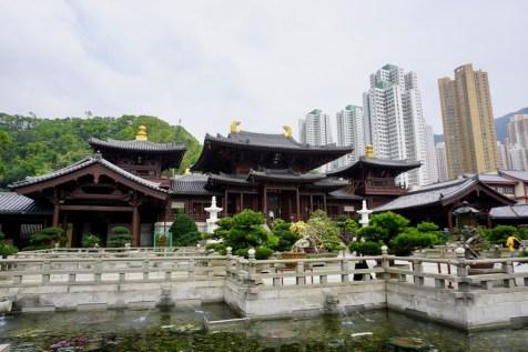 Kloster in einer Großstadt