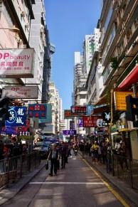 Shopping in Hongkong