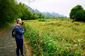 Üppige Natur am Yulong