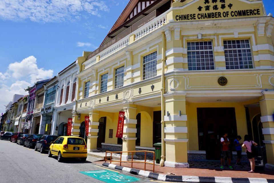 Kolonialbauten in Penang