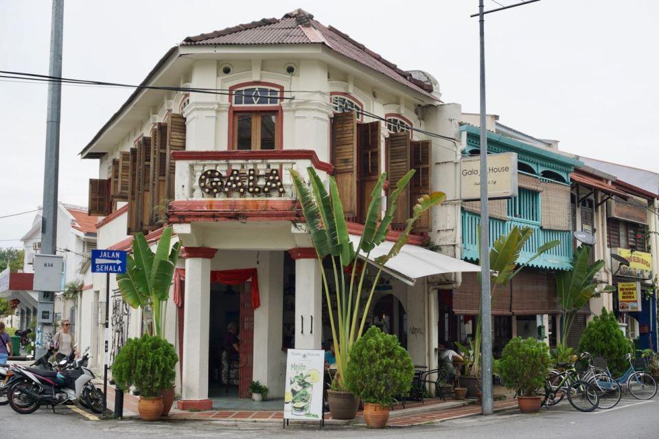 Kolonialstil-Häuser in Malaysia