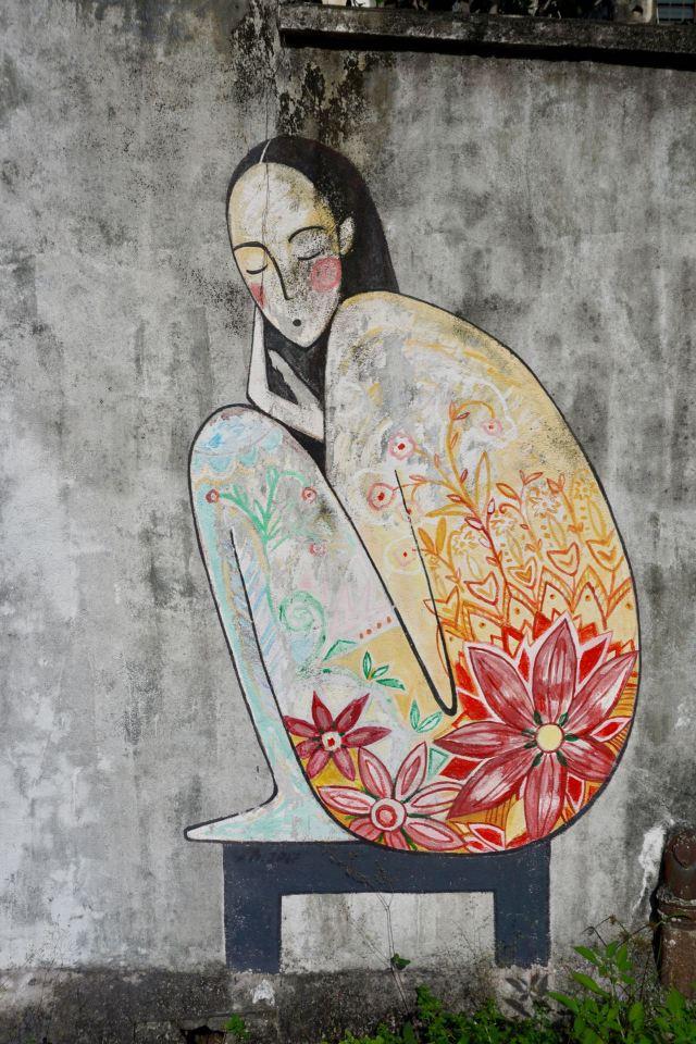 Wandbild von Ernest Zacharevic