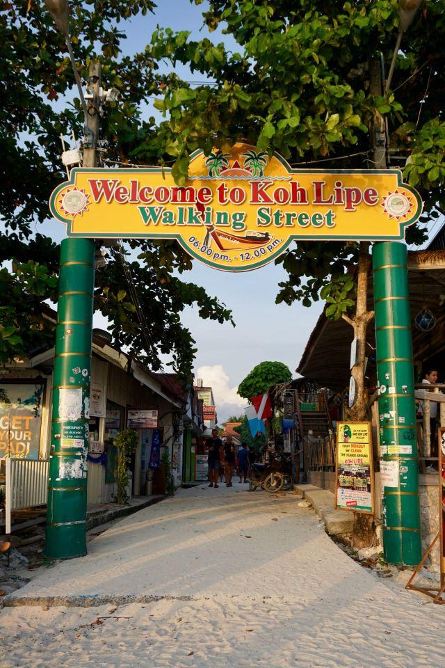 Koh Lipe Walking Street
