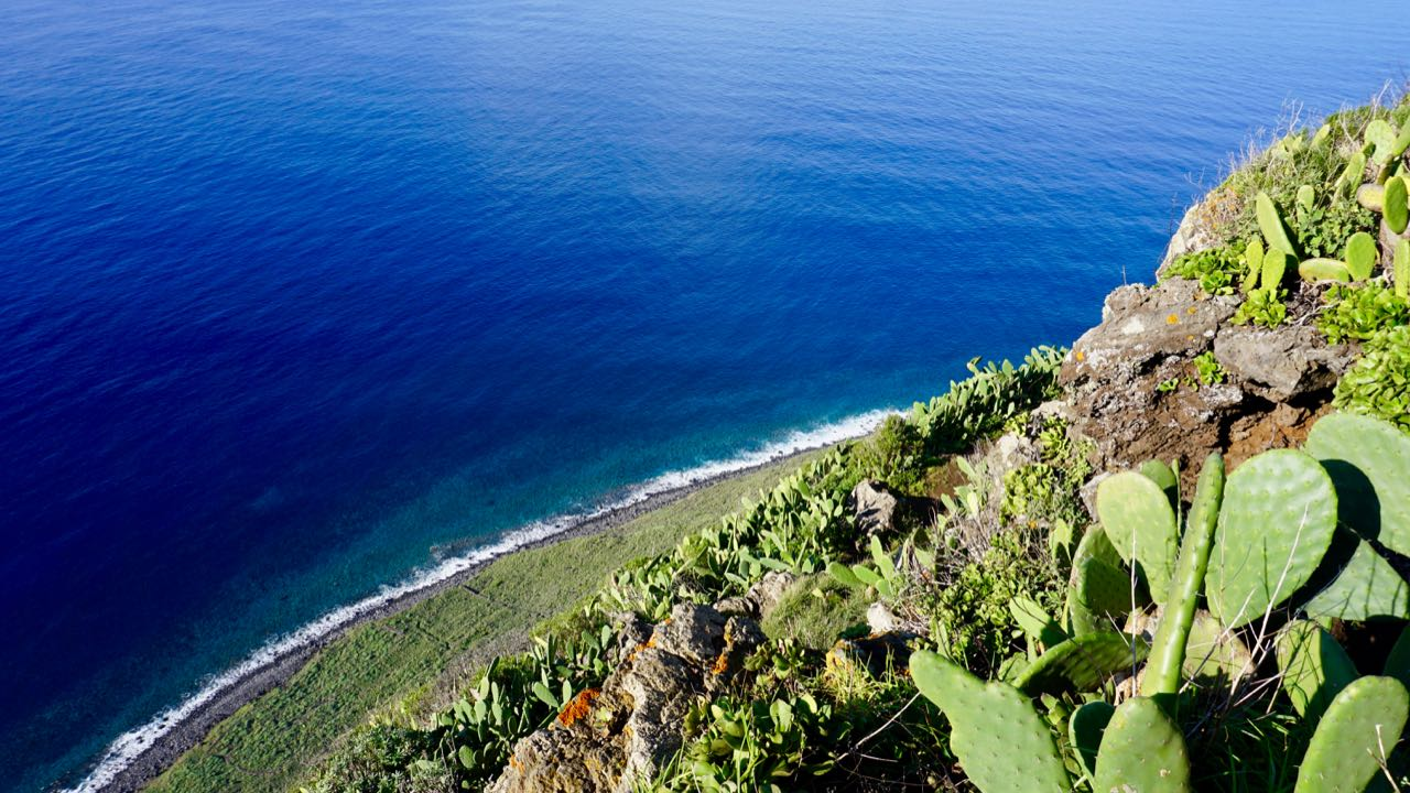 Blick auf Atlantik auf Madeira