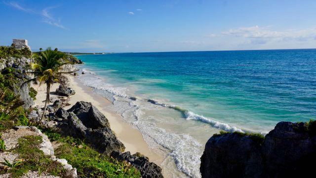 Ozean bei Tulum