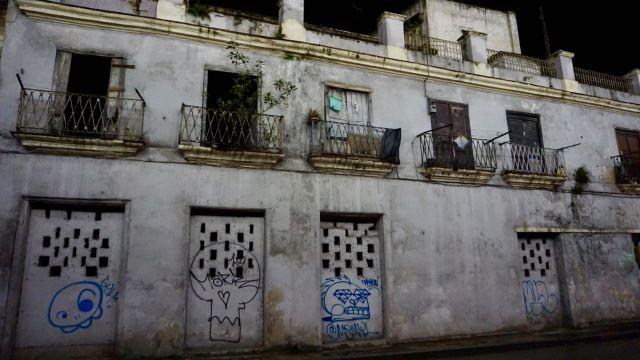 Leerstehendes Haus in Kuba