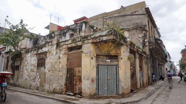 Ruine auf Kuba