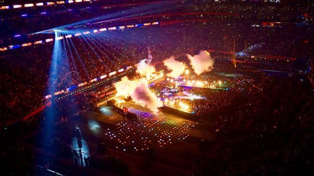 Laser- und Feuershow Atlanta