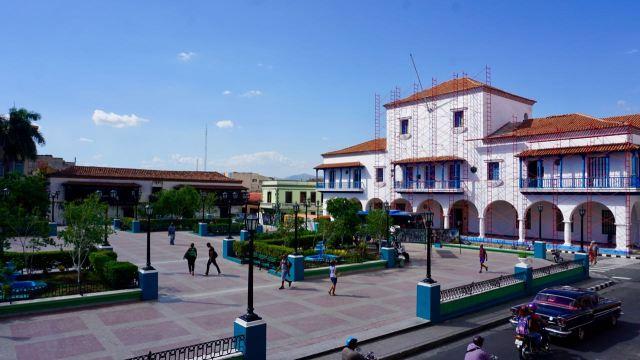 Platz auf Kuba