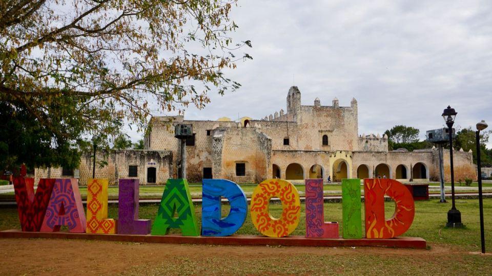 Schriftzug Valladolid