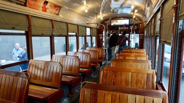 Straßenbahn-Waggon