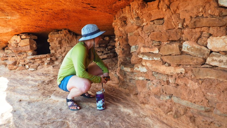CHECKING OUT THE ANCIENT GRANERIES