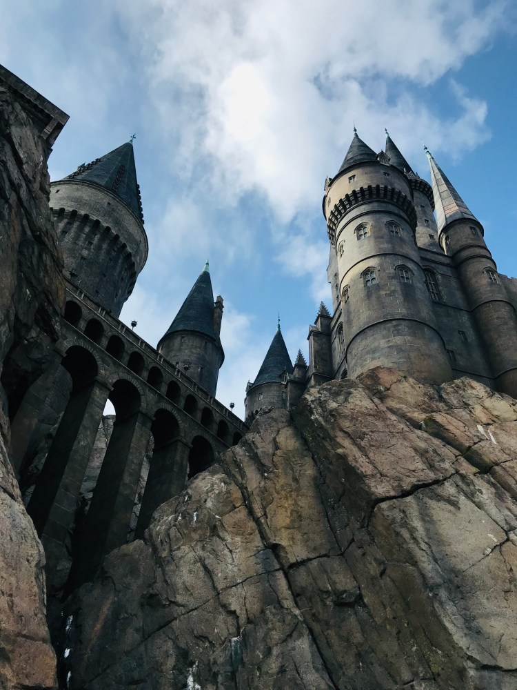 Universal Orlando really got the Hogwarts Castle right!