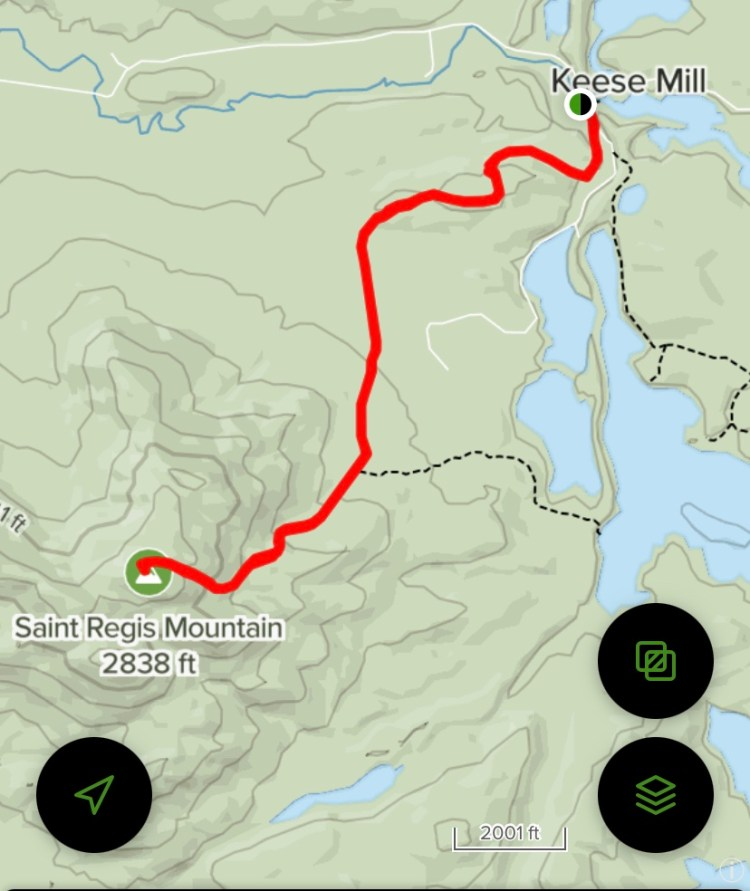 St. Regis Mountain Trail