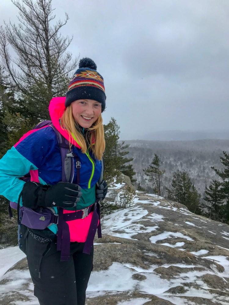Black Bear Mountain in Winter