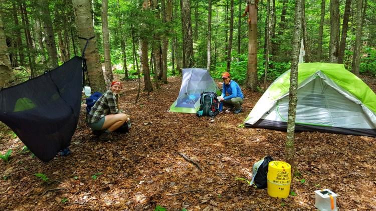 Free backcountry Adirondack Camping
