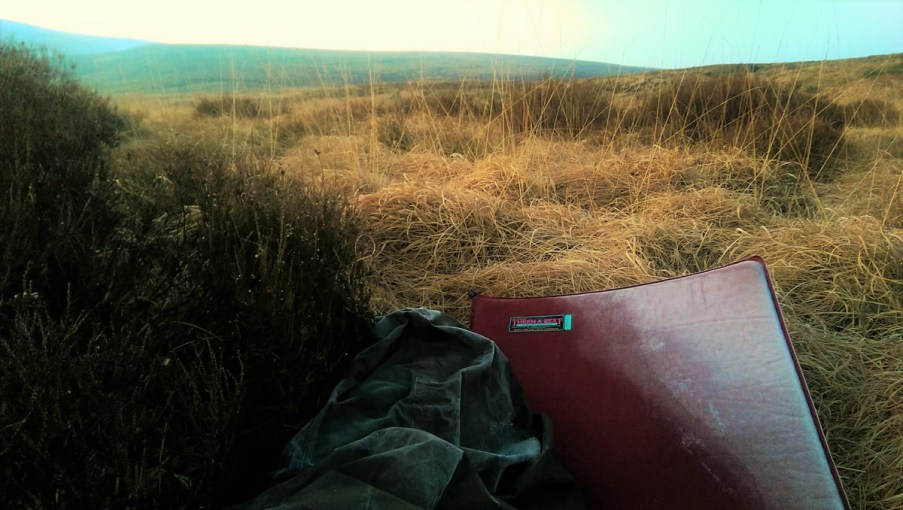 Frost Bivy on Wessendale Moor