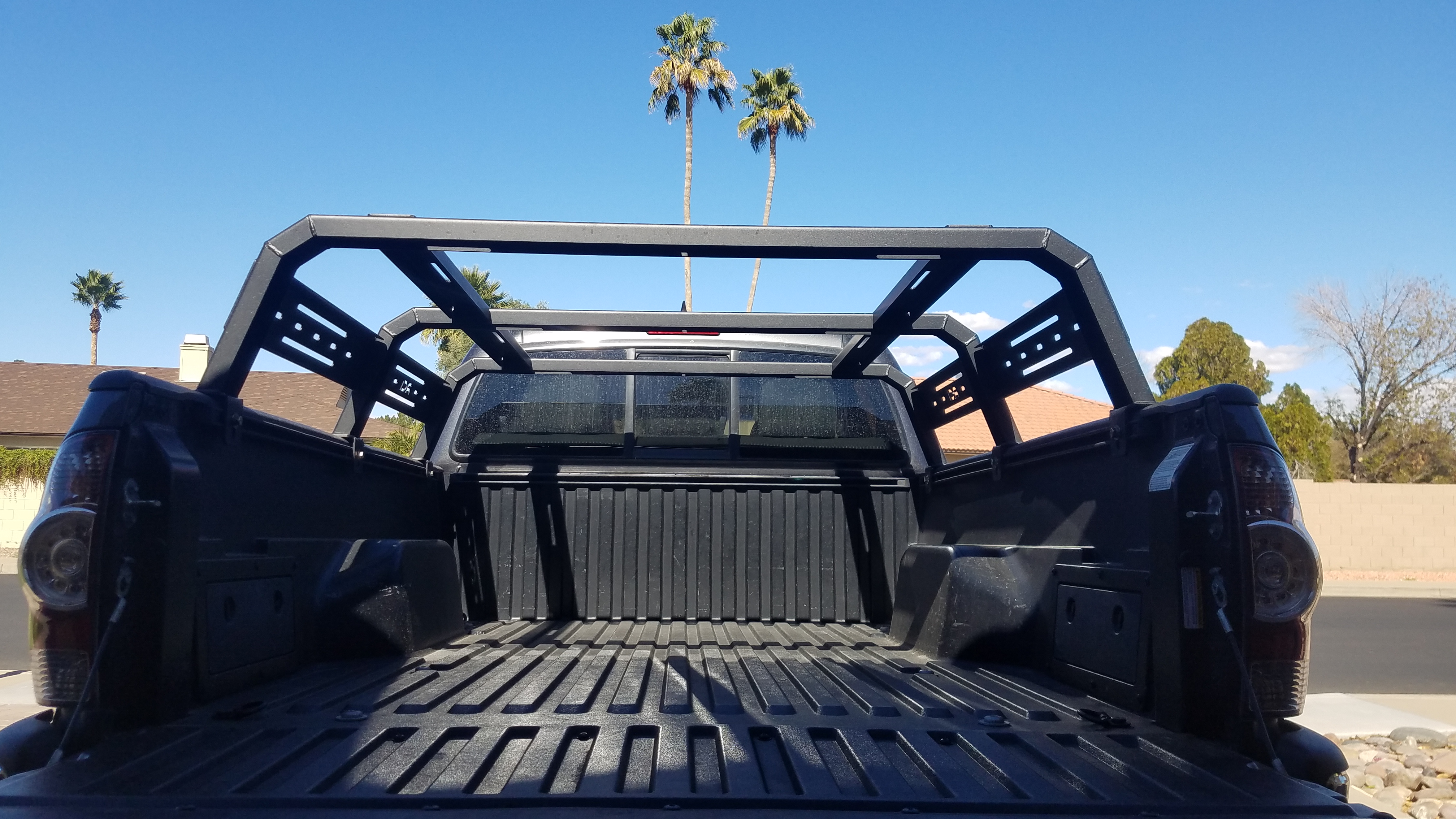 rci bed rack gen 2 tacoma long bed phx