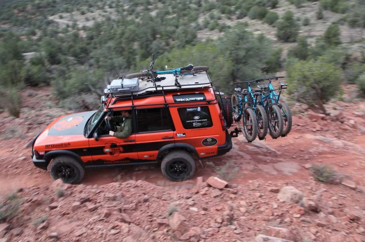 trail tested thule t2 bike rack