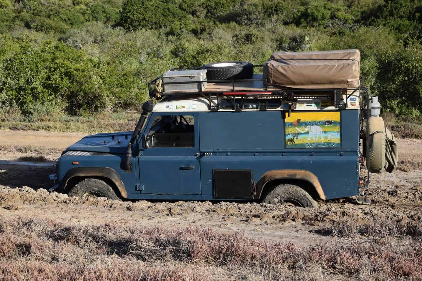 Land Rover Overland Equipment