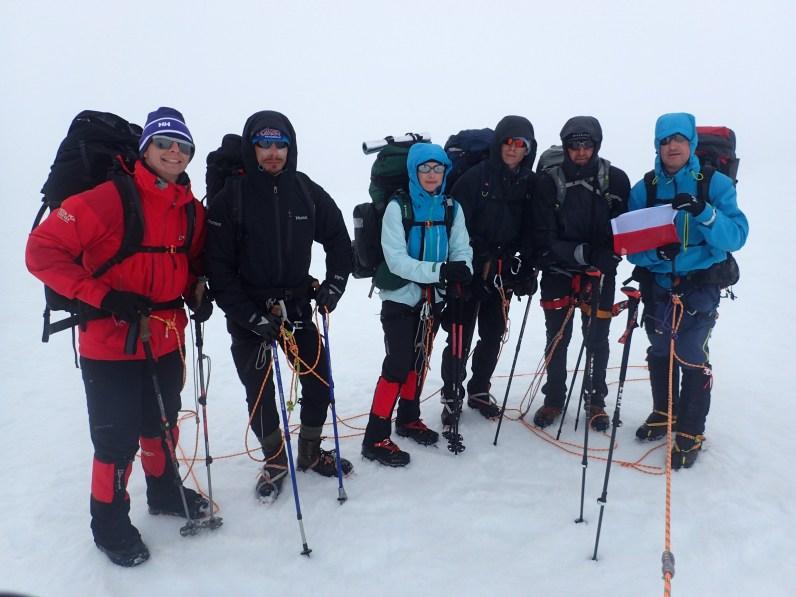 Jokullbunga to najwyższy punkt na całym Hornstrandirze. Na szczycie jesteśmy już podczas załamania pogody.