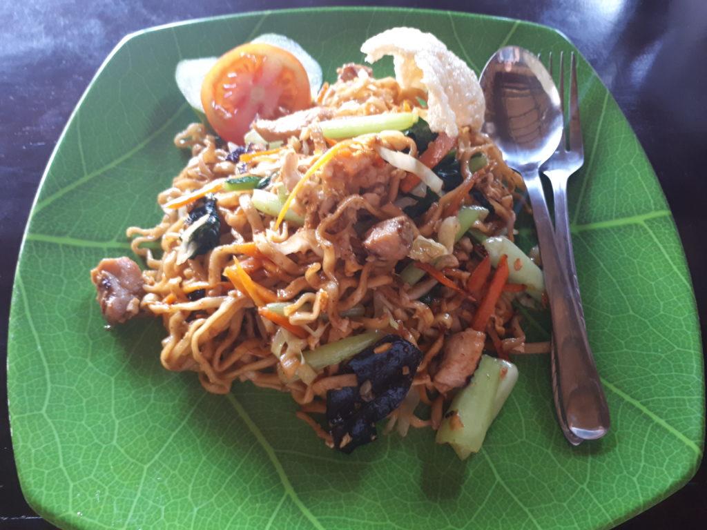repas typique indonésien