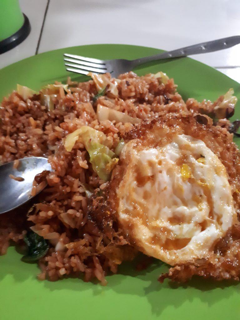 Mie Goreng indonésien, culture gastronomique, budget nourriture pour partir en Indonésie