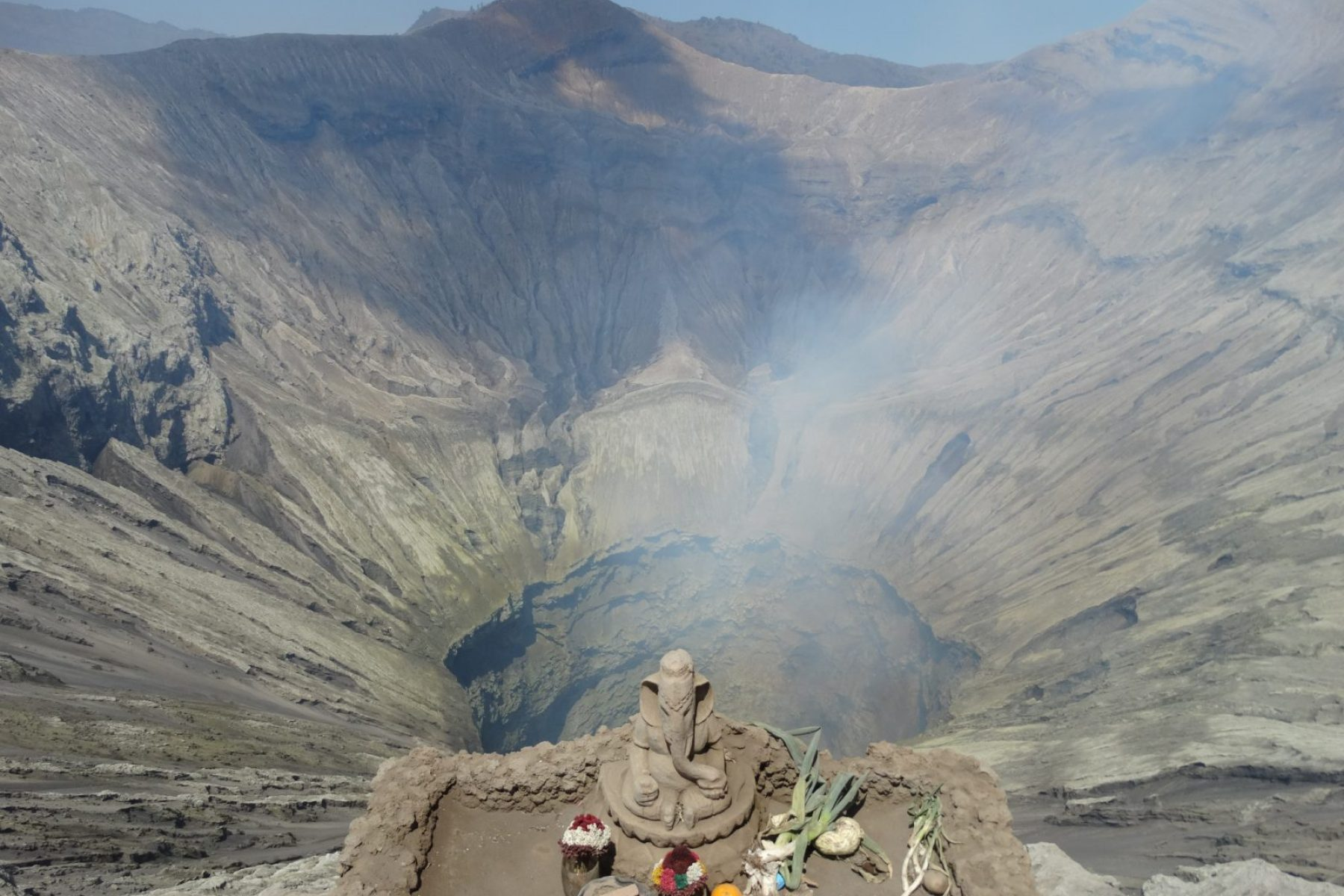 Panorama du cratère Bromo