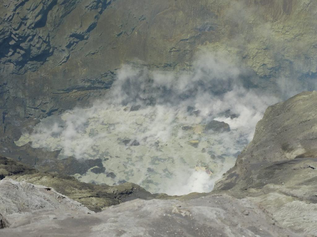 Fumerolles du lac de souffre