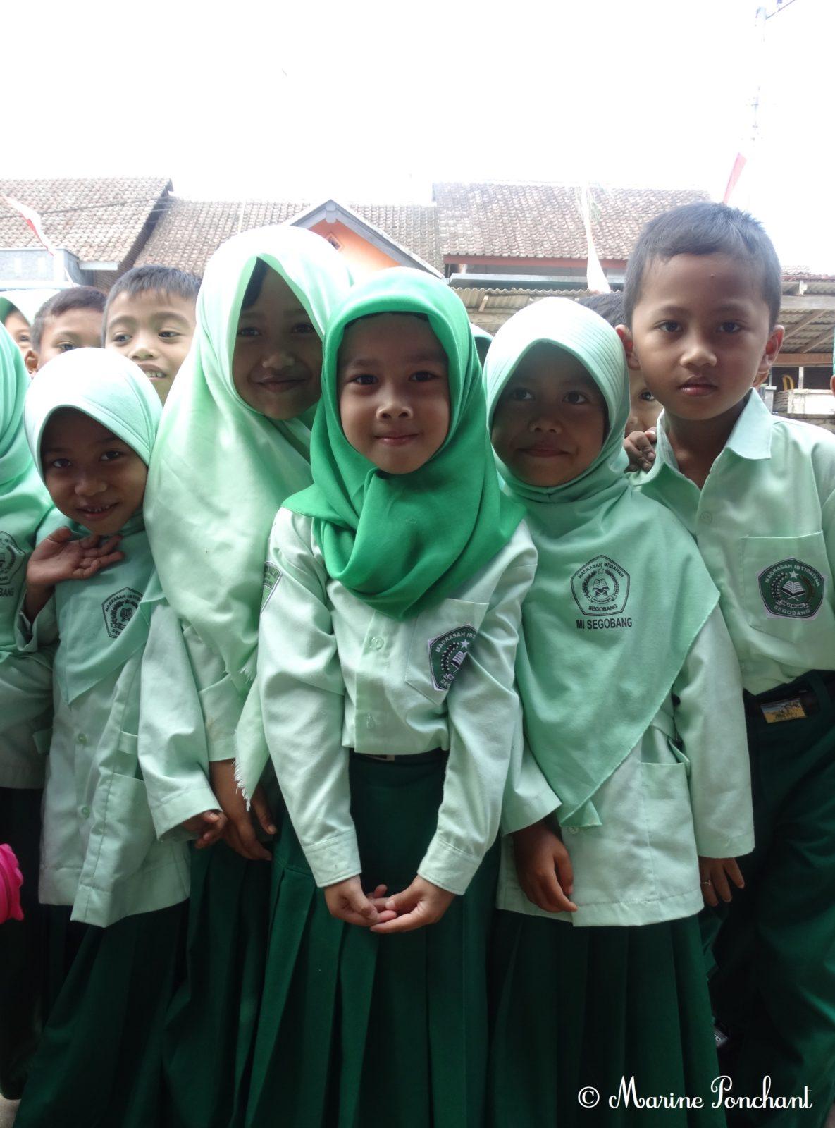 Enfants d'une même classe