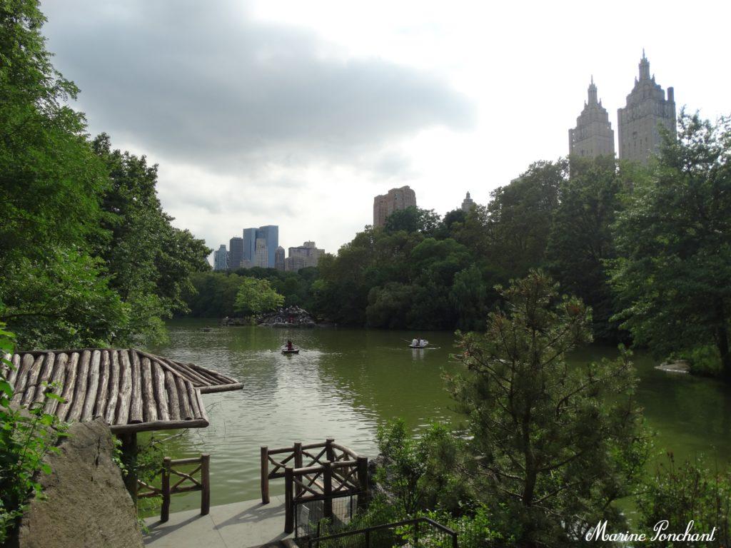 Faire de la barque à New York city