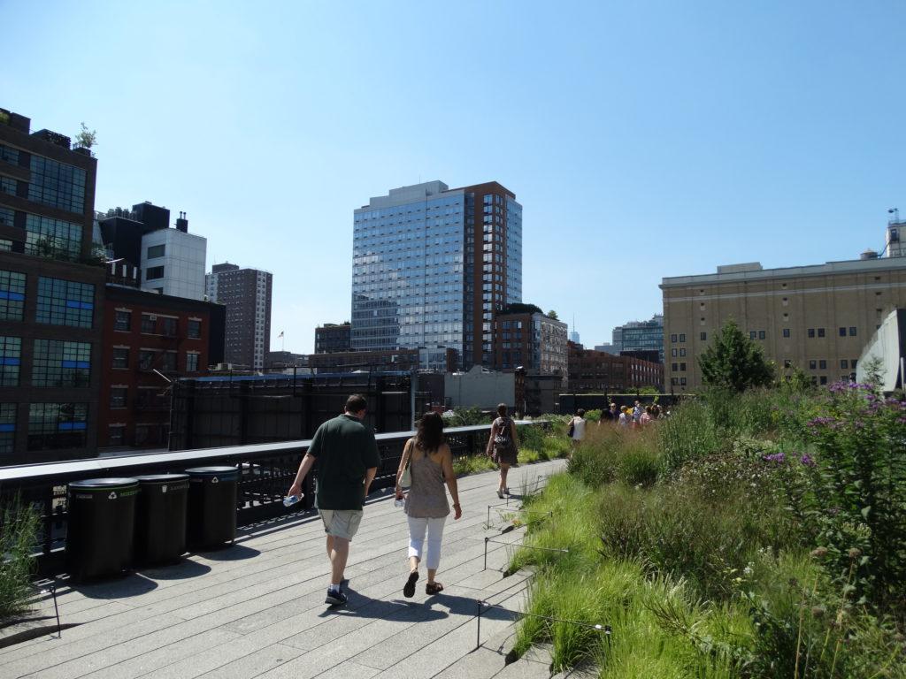 New York et la High Line