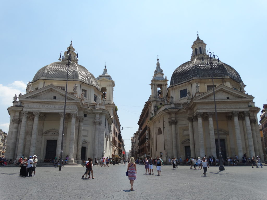 cathédrales jumelles rome