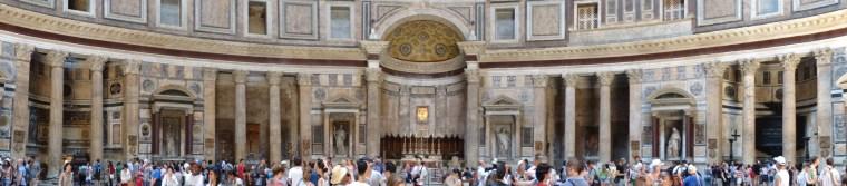 panorama intérieur panthéon