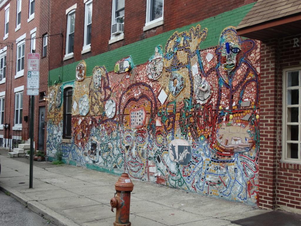 Mosaïque murale Philadelphie