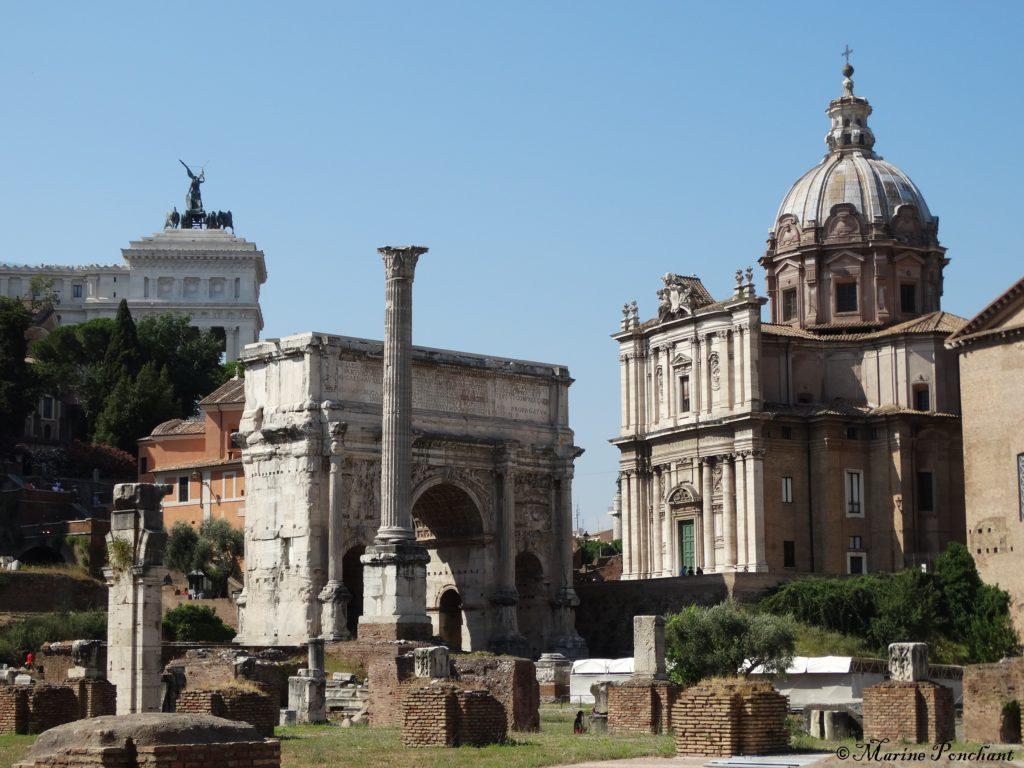 édifices forum romain