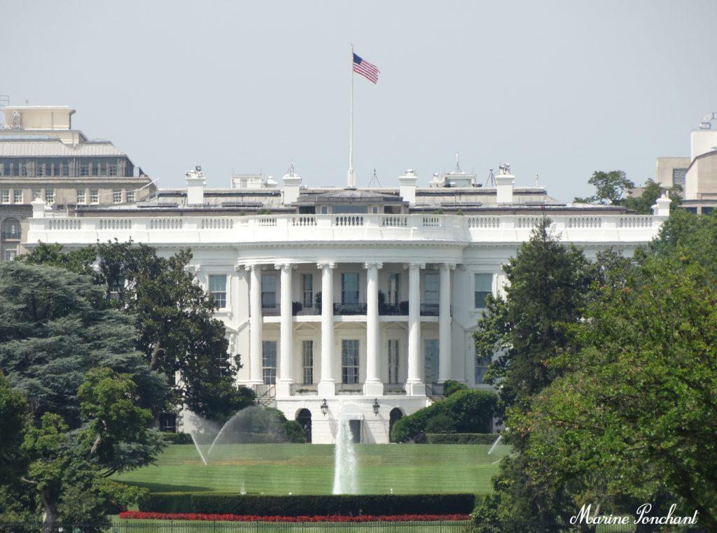 Maison blanche présidentielle