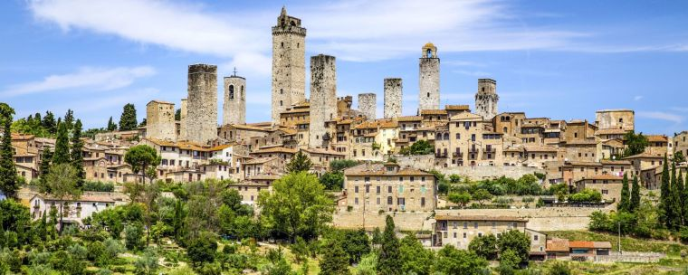village de San Gimignano, Toscane - Italie